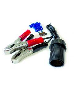 Adapter grippers for cigarette lighter socket