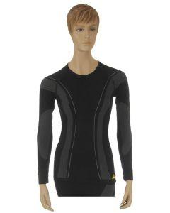 "Longshirt ""Allroad"", ladies, black, size M"