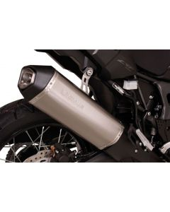 Remus Okami titanium silencer for Honda CRF1000L Africa Twin (2016), slip-on with ABE certification